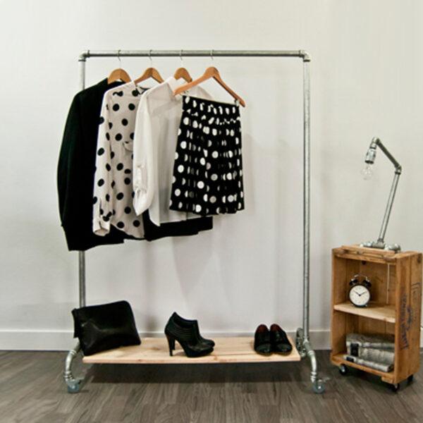 burro para tienda de ropa