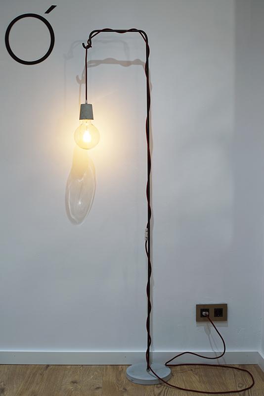 lámpara a medida