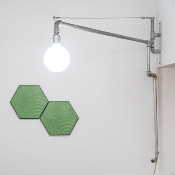 Lámpara de brazo para pared