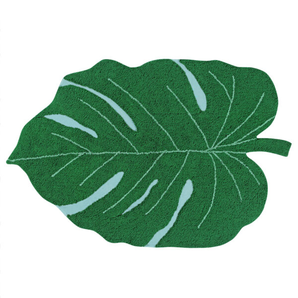 alfombra lavable monstera