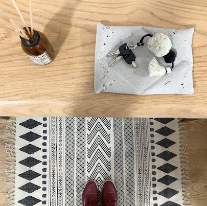 alfombra nórdica