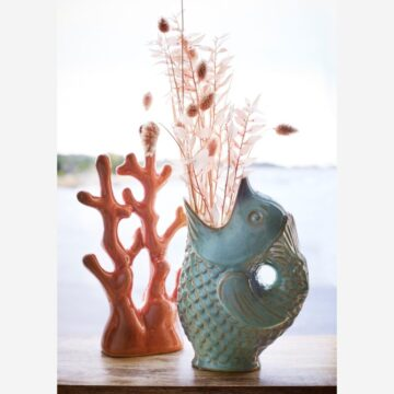 JARRÓN/JARRA FISH MINT