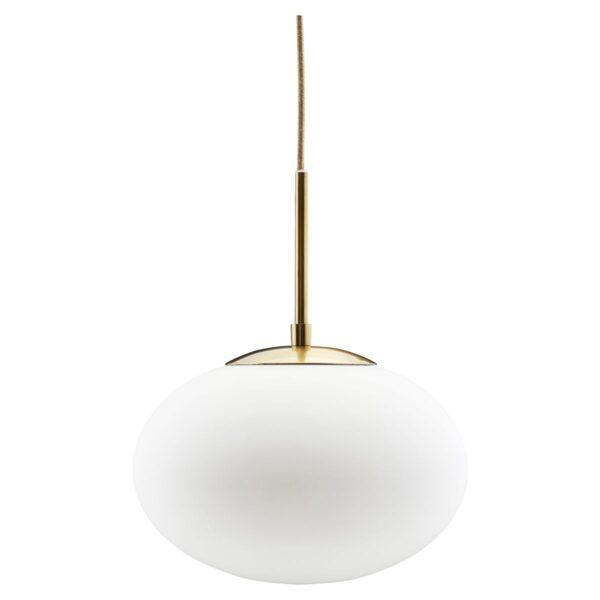 lámpara cristal blanco
