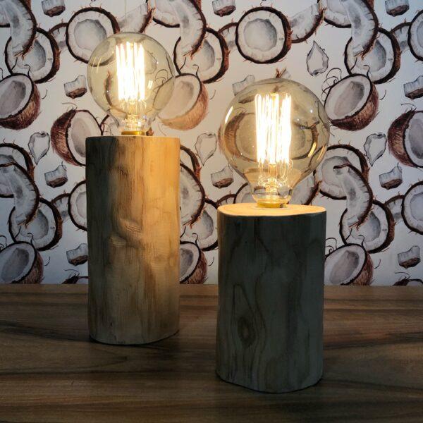 lámpara de tronco