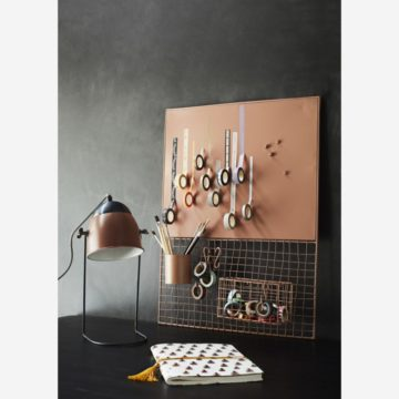 ORGANIZADOR DE PARED DUSTY ROSE