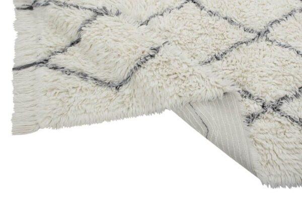 alfombra de lana natural lavable