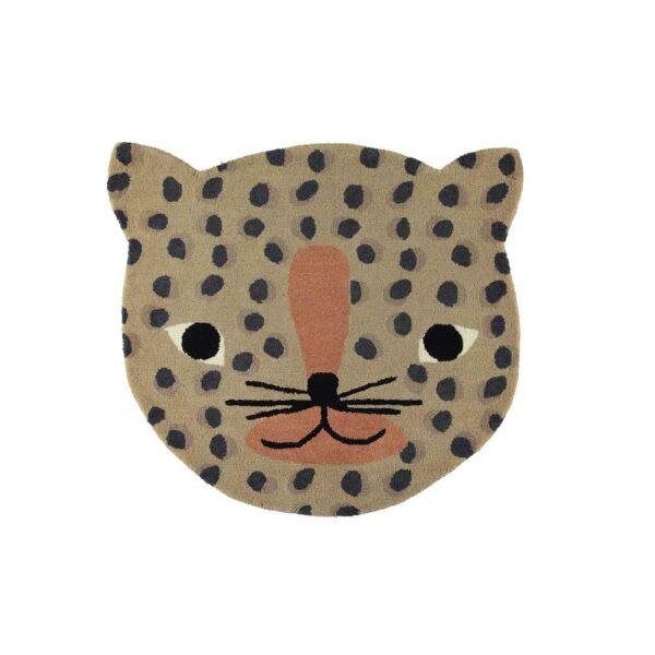 alfombra infantil leopardo