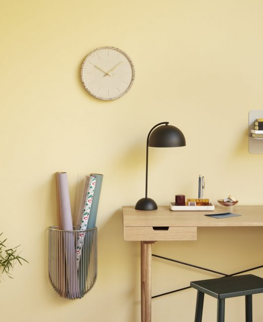 reloj terrazzo